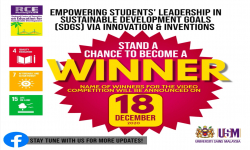[UPDATE] Empowering Students' Leadership in Sustainable Development Goals: Video Competition